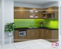Gợi ý cách trang trí cây xanh trong nhà bếp hợp phong thủy