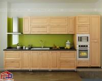 Mua tủ bếp inox cánh gỗ tự nhiên Hà Nội ở đâu chất lượng, giá rẻ?