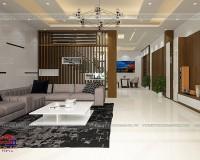 Vách ngăn phòng khách hiện đại – Những thiết kế dẫn đầu xu hướng
